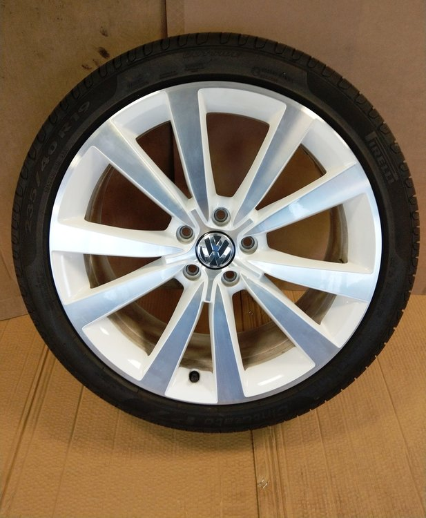 originele velgenset demo set VW Golf A3 Tornado 19 inch wit