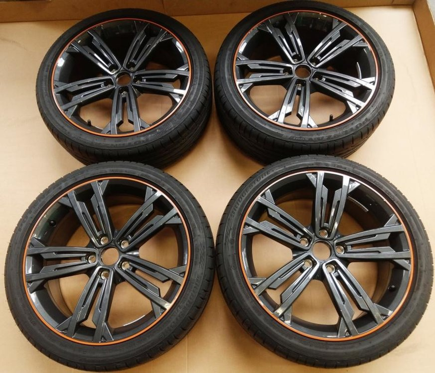 Org set Vw Golf GTI facelift SEVILLA performance velgen gtd