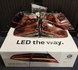Golf 7 7.5 Facelift LED Dynamisch Achterlichten Set + inbouw_