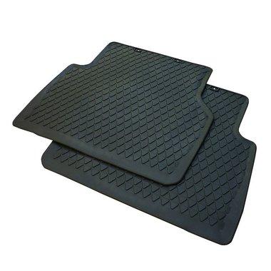 rubber vloermat mattenset mat set achter zijde Tiguan 2007+