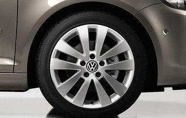 los velg origineel VW 5x112 17 inch Seattle 5K0601025Q / R