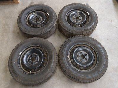 Org velgen set velgenset VW Crafter staal 235 65 R16C 16 inch