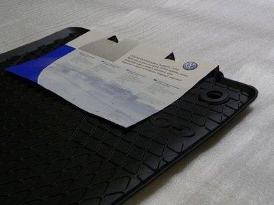 Originele rubber auto mattenset voorzijde Volkswagen Golf 5 6