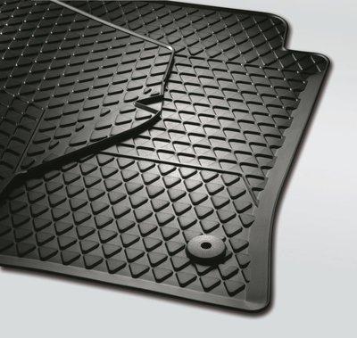 origineel rubber vloermat mattenset achter Caddy Life 2004+