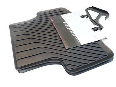 rubber vloermat mattenset mat set achter Audi A3 8V 2013+