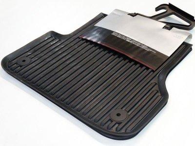 rubber vloermat mattenset mat set achter Audi A6 A7 2011+