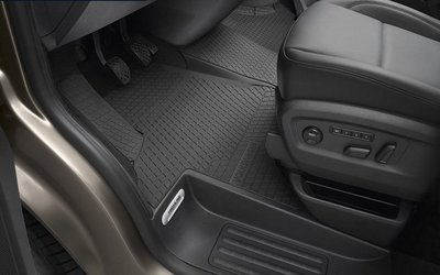 Origineel rubber mat set voor Volkswagen Transporter T5 T6