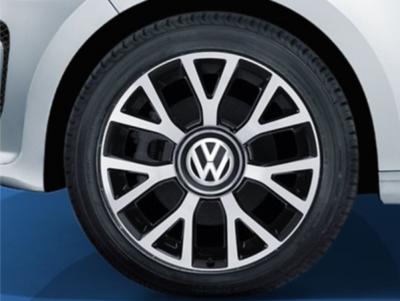 los velg origineel VW velg 4x100 16 inch Upsilon 1S0071496 GTI