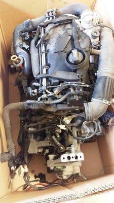 Motorblok compleet met bak 1.9TDI 105PKAVQ GQN motor + bak